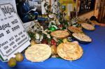 A wonderful collection of pies were submitted for the tasting contest.